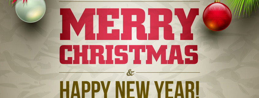 Frohe Weihnachten und alles Gute fürs neue Jahr!