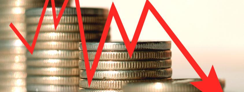 Zinsniveau der Lebensversicherer sinkt