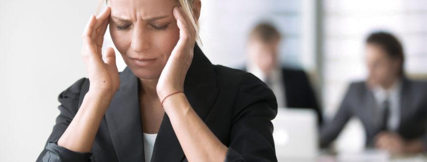 Berufsunfähigkeit durch Stress